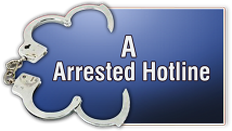 A Arrested Hotline logo